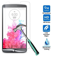 Ultra Thin Tempered Glass For LG G2 G3 G4 G5 Stylus Mini Leon H340 Google Nexus 4 5 G4C V10 Screen Protector Protective Film(China)