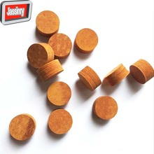 free shipping 10pcs 14mm Brown billiard cue tips SS/S/M/H 8layers customized Pool cue tips High quality Billiard accessories(China)