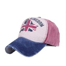 Newly Design Unisex Retro UK Flag Baseball Cap Casual  best Snapback Hats 160316