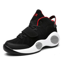 Big Size 39-48 Spring New Men's Height Increasing Basketball Shoes Trainers High Top Sports Shoes Brand Sneakers Boots for Man(China)