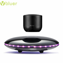 Multifunctional Vibrative Portable Speaker Great Sound Quality Bluetooth Levitating Speakers with Magnetic led Base