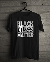 Print Cotton High Quality Printing O-Neck Mens Lives Matter, Blm African-American Activist Movement Community Shirt(China)