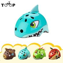 Animal Bike Safety Helmet Children's Helmets High Density PC Cartoon Skating Child Cycling Riding Kids Bicycle Helmets Ciclismo