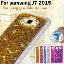 Buy Bling Diamond Quicksand Glitter Star Liquid Case Samsung Galaxy J7 2015 Luxury TPU Cover Phone Case Galaxy J700 J7008 for $5.35 in AliExpress store
