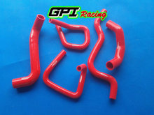High performance FOR Ford Falcon BA BF XR6 Turbo Silicone Radiator Hose Kit