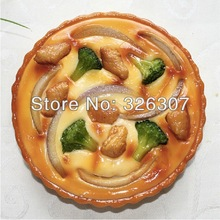 Pizza model artificial food customize model sample cuisine restaurant window display fake dish bacon Stufffed mode customized(China)