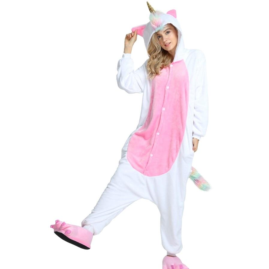 Animal onesie0 Adult Unicorn Kigurumi Pajamas Cosplay Costume for Women Men Boy