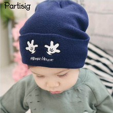 Brand Baby Hat Wool Kintted Baby Beanie Hats For Boys And Girls Autumn Winter Children's Hats Kids Caps