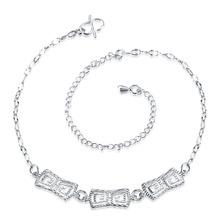JEXXI Hot Sexy 2016 Silver Anklets Charm Design Foot Bracelet Ankle Chain Women Girl Fashion Gift Cool Jewelry