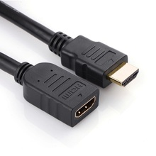 HDMI Extension Cable male to female 1M/2M/3M/5M HDMI 4K 3D 1.4v HDMI Extended Cable for HD TV LCD Laptop PS3 Projector