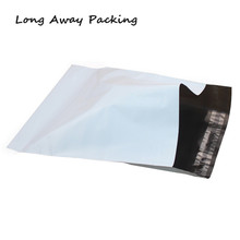 Long Away Packing Large Size White Color Envelope/mailing bag/ Courier Mailer Express Bag 25pcs/lot(China)