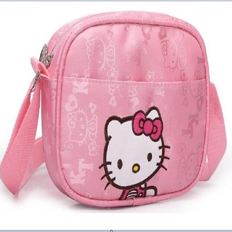 Hot Sale Fashion Hello Kitty Shoulder bag Children Girls Small Messenger Bags Casual Haversack #KTB766<br><br>Aliexpress
