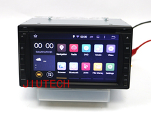 Android 7.1 Universal Car DVD Player GPS Navi SAT NAV 2 Din Car Stereo Radio Tape Headunit 173*98mm RDS SWC OBD2 DAB+ Wifi