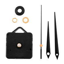 New Classic Black Triangle Hands Quartz Clock Movement Mechanism Parts Repair DIY Essential Tools Silent