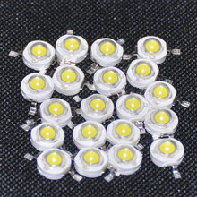 20pcs LED Diodes Cold White 1W White Light Emitting Diod 1 Watt Chips LED Diodo Beads 1-Watt LED Diodi Cool White Branco Frio