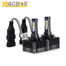 RACBOX D1S D3S LED Car Headlight 36W 4000Lm Same Size As HID Xenon lamp 6000K White 12V D1R D3R External Light Sourcing Lamp