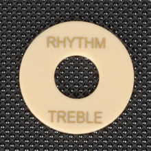 New Hot Sale ABS Rhythm Treble Switch Plate fits Les Paul Guitar Cream Musical Stringed Instruments Guitar Parts Accessories