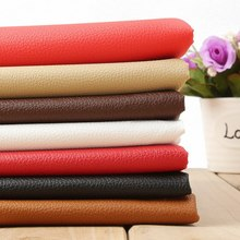Fashion 145cmX50cm Small Lychee Pattern PU Leather Fabric Upholstery Leather DIY Fabric For Sofa Car Interior Bags Leather Seats