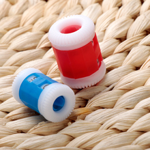 2PCS/lot RED Convenient Plastic Crochet Knitting Row Counter Round Stitch Tally Knitter Needle Free Shipping #181