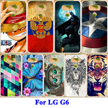AKABEILA Painted Phone Case For LG G6 G6+ Cases H870DS H870 H871 H872 H873 H870K LS993 US997 VS998 H870S Hard PC Soft TPU Cover(China)