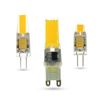 LED G4 G9 Lamp Bulb AC DC Dimming 12V 220V 3W 6W 9W COB SMD LED Lighting Lights replace Halogen Spotlight Chandelier