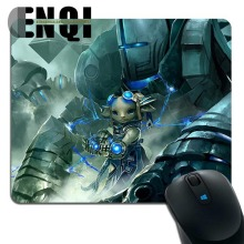 Hot 2017 Unique Guild wars 2 game Background pattern Rubber Computer Animation mouse pad(China)