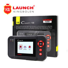 Launch CReader VIII Code Reader X431 Creader 8 Supports 4 System + ERP +Oil Reset +SAS Free Update Online Creader CR8 with Gifts(China)