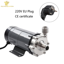 Magnetic Drive Pump 15R With Stainless Steel Head,Beer Brewing 220V European Plug with 1/2 NPT thread(China)