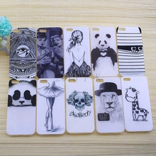 New fashion Sketch Deer Animal Case Cover Thin Skin for iPhone 5 5s Luxury Protector tpu case Soft Cover Funda Cute Cartoon deer