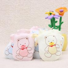 1 Pairs Cute Baby Gloves Infant Anti Scratch Mittens Soft Rope Gloves Newborn Baby Mittens Gants Fillette