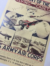 U.S ARMY AIR CORPS COMMANDING GENERAL WW2 USA Vintage Retro Kraft Decorative Poster DIY Wall Sticker Home Bar Decor Gift(China)