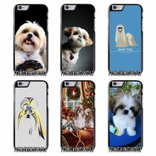 Shih Tzu puppy dogs Cover Case for Samsung A3 A5 A7 2015 2016 2017 Sony Z1 Z2 Z3 Z5 Compact X XA XZ Performance(China)