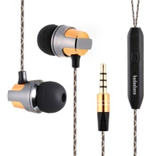 Bada In-Ear Earphone Headset With Microphone Wired Magnetic headset dj mp3 player Stereo Bass Earbuds Computer For Phone Sport(China)