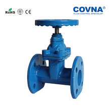 DN100 Water Cast iron soft seal flange Gate Valve(China)