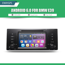 Quad Core Android 6.0 IN-Dash Car DVD Player Radio Stereo For BMW E39 E53 Bluetooth Wifi Steering Wheel GPS Navigation EW802P6QH(China)