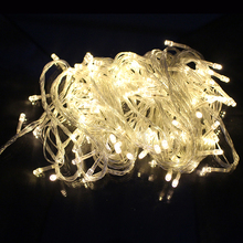 Tanbaby LED String light 10M 100 Led AC220V / 110V 8 Modes outdoor indoor RGB decoration lights for Party Garden Holiday Fairy