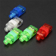 Luminous LED Finger Light Colorful Night Lamp Holiday Lighting Wedding Birthday Party Bar Decor Lamp Red/Green/Blue/White/RGB