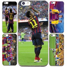 Football Stars Neymar da Silva Santos Jersey  theme For IPhone 6 6S Plus 5 5S SE Case Silicone soft slim Tpu Cell Phone Cover