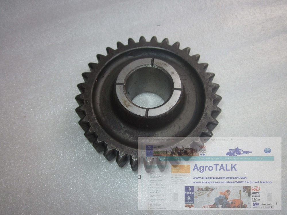 TB554.421E.1-02 , the Transfer case idler for Foton Lovol tractor TB404C -TB554 (e.g. model TS4A404-004C) tractor<br>