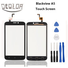 For Blackview A5 Touch Screen Original Touch Panel Perfect Repair Parts for Blackview A5 Mobile Accessories Free Shipping