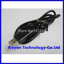 PL2303HX USB Transfer to TTL RS232 Serial Port Adapter Cable Module PL2303 Console Recovery Upgrade(China)