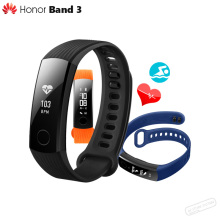 "In Stock Original Huawei Honor Band 3 Smart Wristband Swimmable 5ATM 0.91"" OLED Screen Touchpad Push Message Heart Rate Monitor"