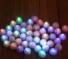 3600PCS FREE DHL White Round Led Ball Lamps Balloon Lights Multicolor RGB Flash Lights for Wedding Party Decoration YH333(China)