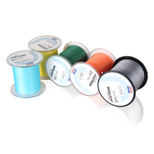 DNDYUJU 500M Dyneema Multifilament Fishing Line 4 Strands PE Braided Fishing Line Super Strong Material From Japan(China)