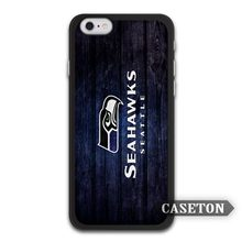 NFL Football Seattle Seahawks Team Case For iPhone 7 6 6s Plus 5 5s SE 5c 4 4s and For iPod 5
