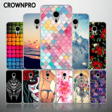 CROWNPRO FOR Meizu M3s Mini Case Cover Silicone FOR Meizu M3s Covers Soft TPU Back FOR Meizu M3 S Mini Cell Phone Cases