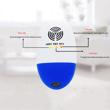 Ultrasonic Mosquito Repeller for Home Garden Mosquito Insect Rat Mouse Pest Reject TB Sale(China)