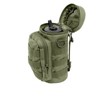 Outdoor Molle Water Bottle Pouch Tactical Gear Kettle Waist Shoulder Bag For Camping Hiking Mountaineer Outdoor Sport Bag(China)