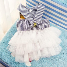 Cute Dog Wedding Dress Summer Pet Layered Princess Skirt Cat Doggy Clothes Luxury Party Apparel Shirt For Pet Dog(Fast Delivery)