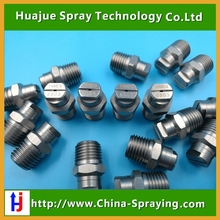 "High quality 1/4"" MEG Flat fan spray nozzle for Road sweeper,fan veejet spraying nozzle"